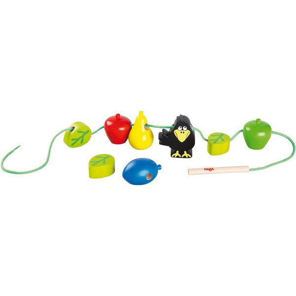 Haba Children's Bambini Orchard Bead Threading Set
