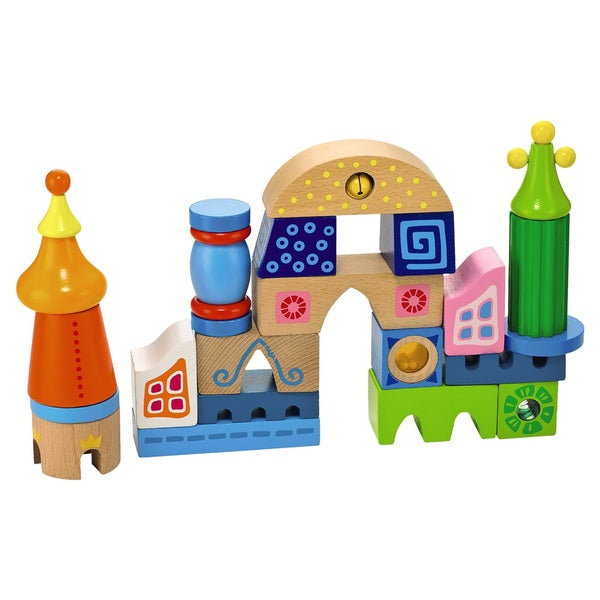 Haba Fortress Of Fun Wooden Set