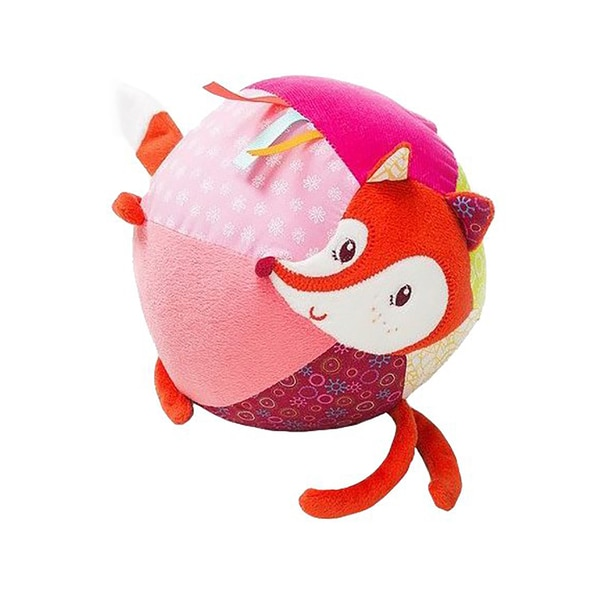 Lilliputiens Alice the Fox Multisound Fabric Ball