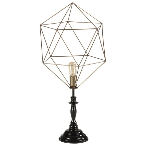 Nikola Medium Abstract Diamond Table Lamp
