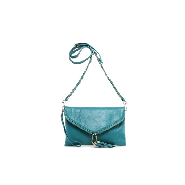 Cece Leather Crossbody/Clutch