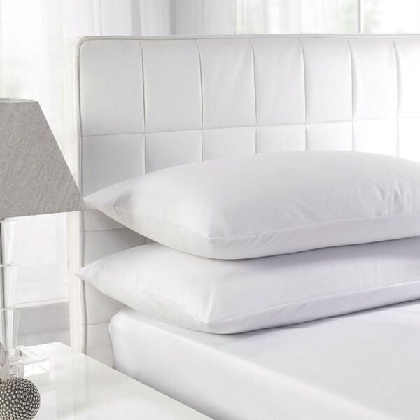 White Feather Cotton Standard Pillow (Set of 2)