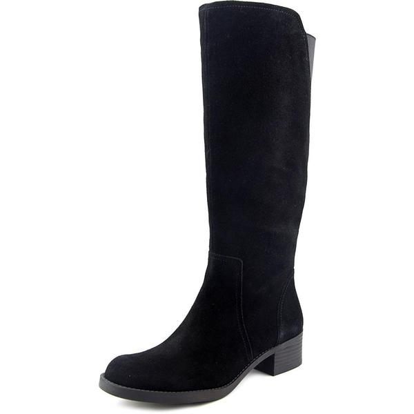 Lucky Brand Women's Hanover Black Regular Suede Boots