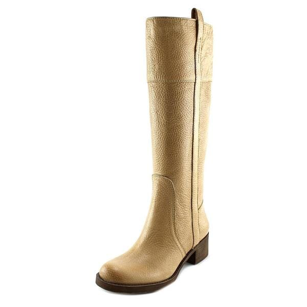 Lucky Brand Women's 'Hibiscus Wide Calf' Tan Leather Knee-high Boots
