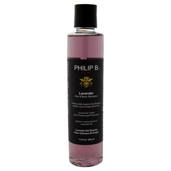 Philip B. 7.4-ounce Lavender Hair & Body Shampoo