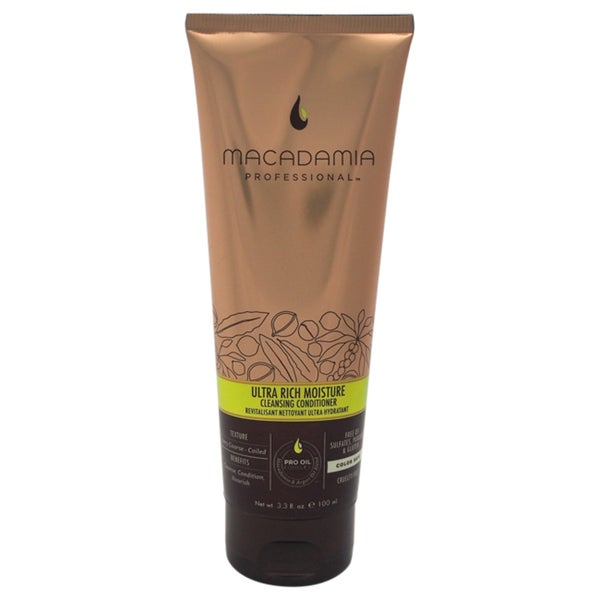 Macadamia 3.3-ounce Ultra Rich Moisture Cleansing Conditioner