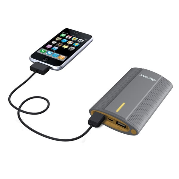 SHARKK 10,000 mAh Dual USB Powerbank Charger