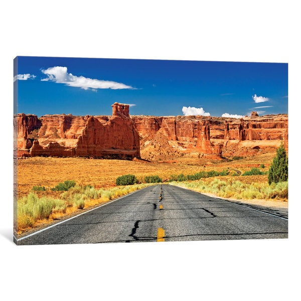 iCanvas Scenic Drive by Philippe Hugonnard Canvas Print