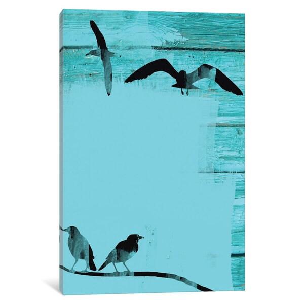 iCanvas Birds In Sky II by Irena Orlov Canvas Print
