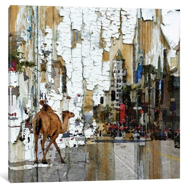 iCanvas Camel In The City by Irena Orlov Canvas Print