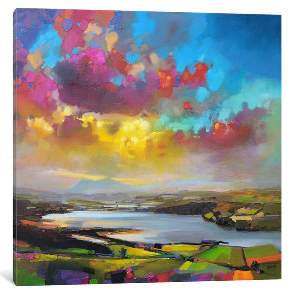 iCanvas Struie Hill Dornoch by Scott Naismith Canvas Print
