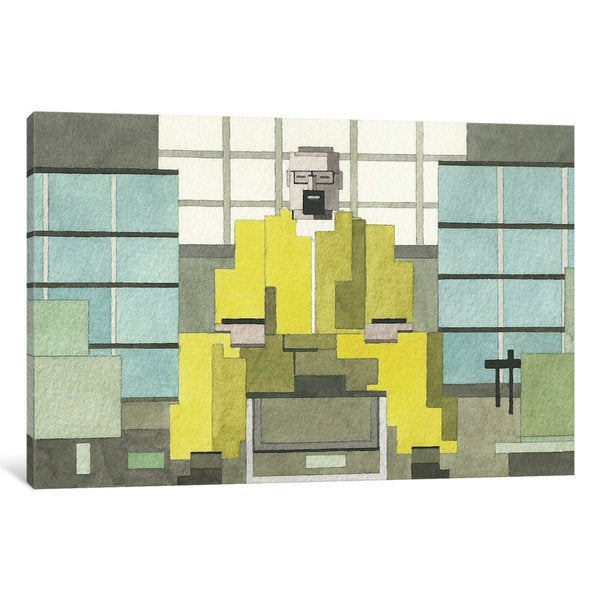 iCanvas Breaking Bad by Adam Lister Canvas Print