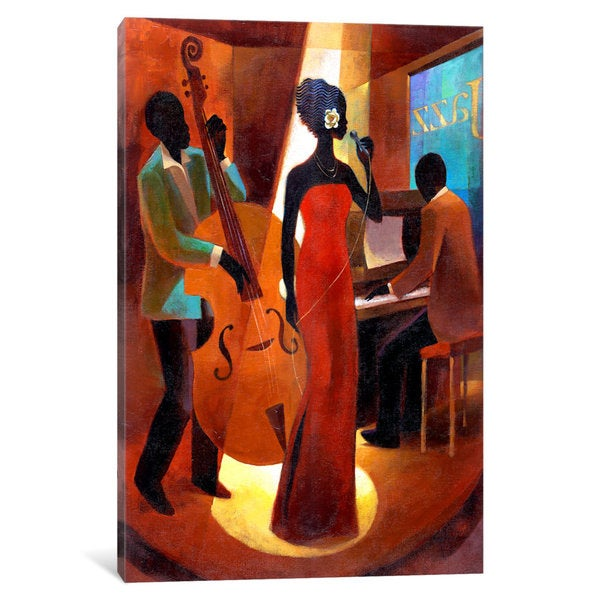 iCanvas In A Sentimental Mood by Keith Mallett Canvas Print