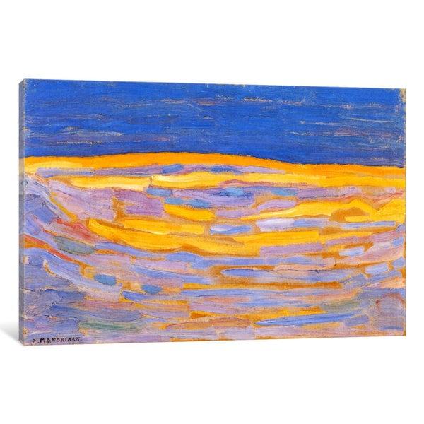iCanvas Dune l, 1909 by Piet Mondrian Canvas Print