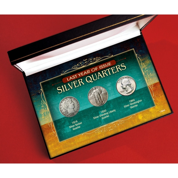 American Coin Treasures Last Year of Issue Silver Quarters