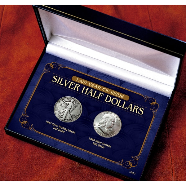 American Coin Treasures Last Year of Issue Silver Half Dollars