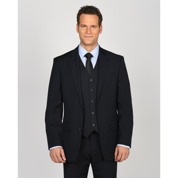 Dockers Suit Separates Navy Stripe Jacket