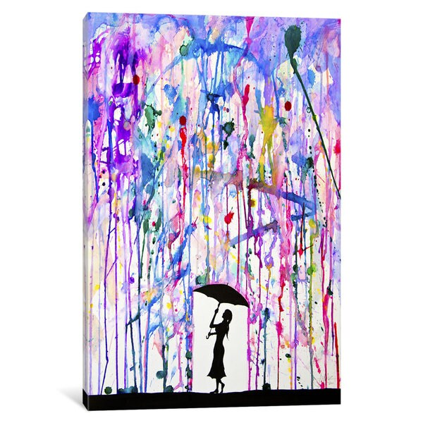 iCanvas Deluge by Marc Allante Canvas Print
