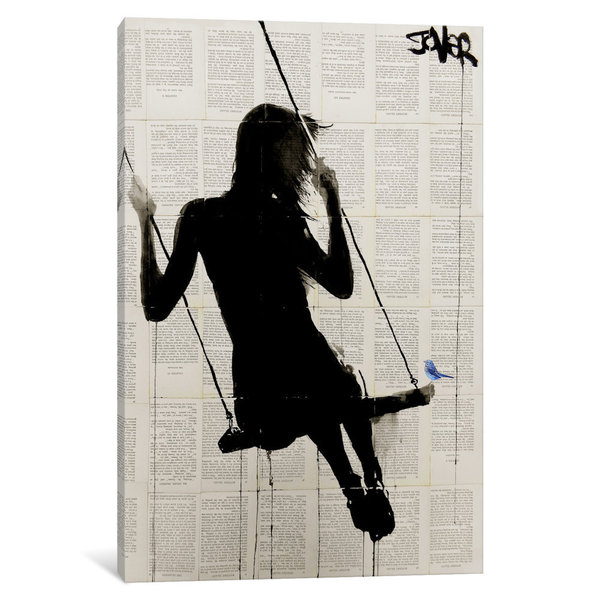 iCanvas The Freedom Of Sometimes by Loui Jover Canvas Print