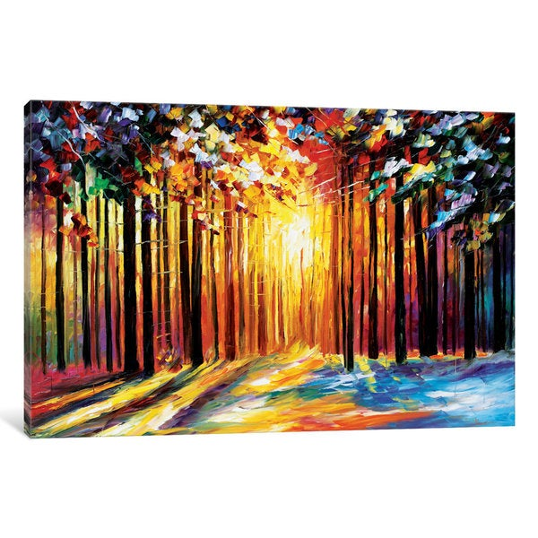 iCanvas Sun Of January by Leonid Afremov Canvas Print