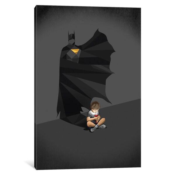 iCanvas Walking Shadow Hero II by Jason Ratliff Canvas Print