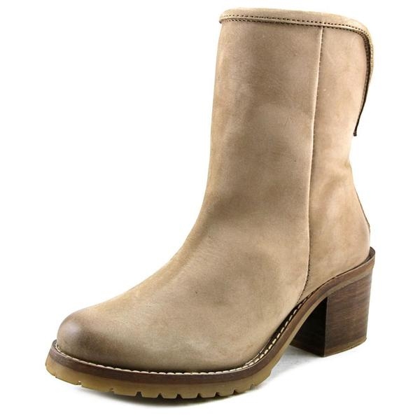 Steven Steve Madden Women's Havek Tan Leather Boots