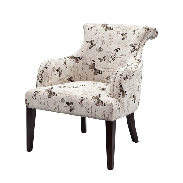 Madison Park Jayla Multi Rollback Accent Armchair
