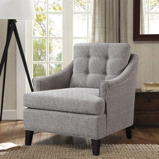 Madison Park Collin Grey Tufted Club Chair