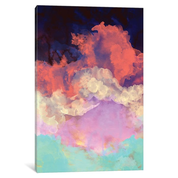 iCanvas In To The Sun by Galaxy Eyes Canvas Print