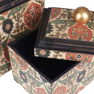 Large Vintage Keepsake Box