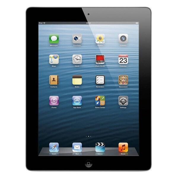 Apple iPad (4th Generation) Wi-Fi 16GB Tablet - Black (Certified Refurbished)
