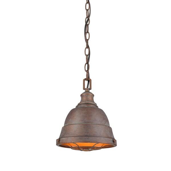 Golden Lighting #7312-S CP Bartlett Mini Pendant Light
