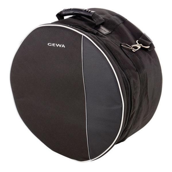 Gewa 231350 Black Cordura/Velvet Lining 14-inch x 8-inch Premium Gig Bag for Snare Drum