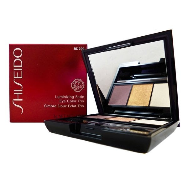 Shiseido Luminizing Beach Grass Satin Eye Color Trio
