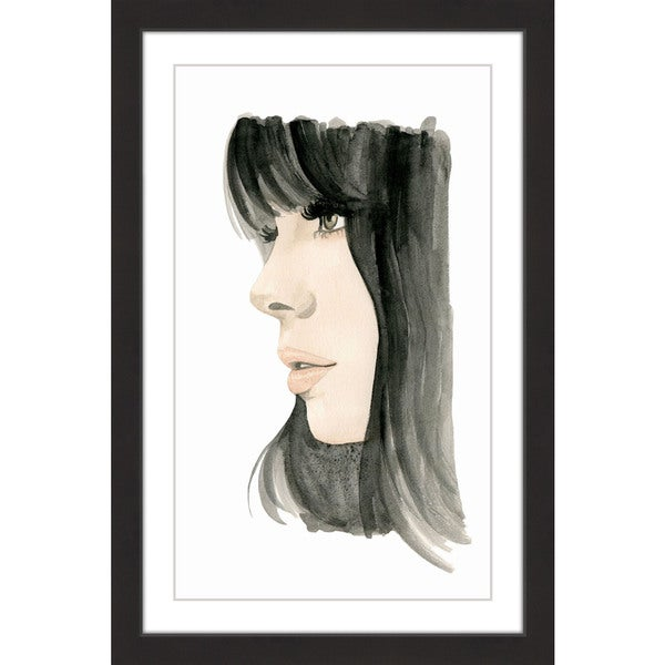 Marmont Hill - 'Good Hair' by Dena Cooper Framed Painting Print