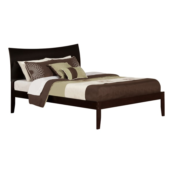 Atlantic Soho Espresso King Open-foot Bed