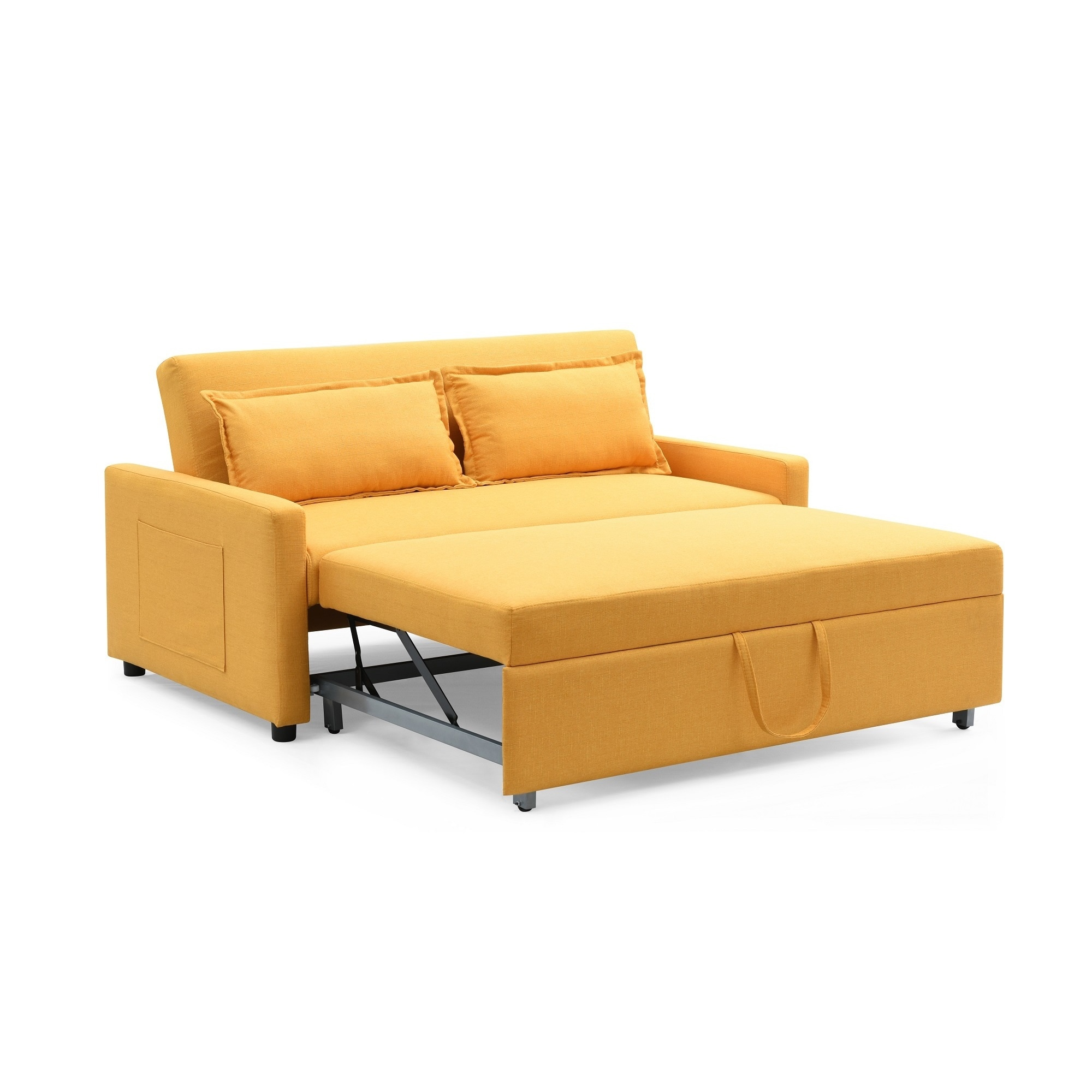 Modern Convertible Sofa with Pullout Bed