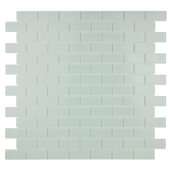 Quartz Soft White Crystal Mosaic Tiles