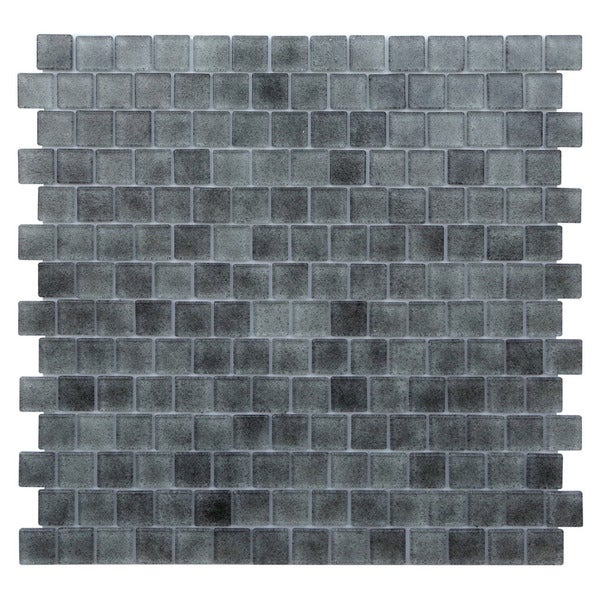 Quartz Grey Gradient Glass Tiles
