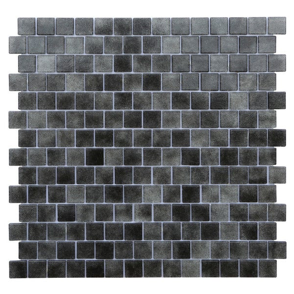 Black Glass Mosaic Tile