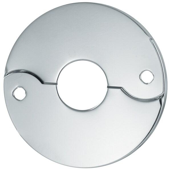 """Plumb Craft Waxman 7613600N 3/4"""" Chrome IPS Escutcheon"""