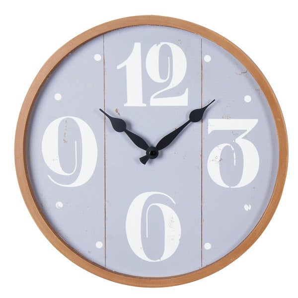 Rincon Grey Wall Clock
