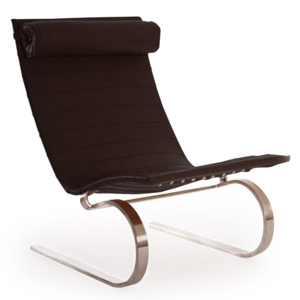 Kardiel PK20-style Cantilever Lounge Premium Aniline Leather Modern Chair 21033911