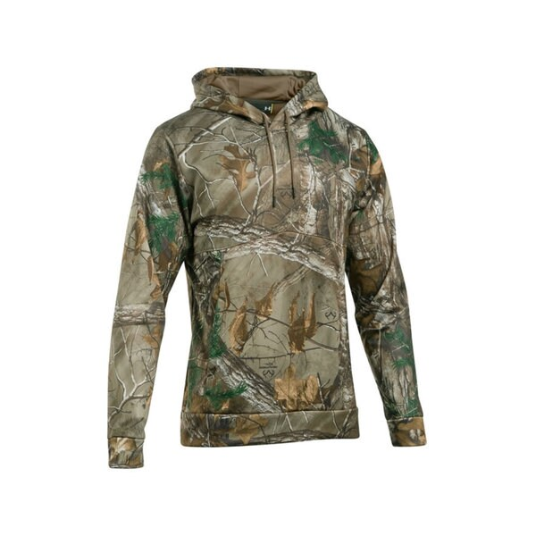 Under Armour Storm Armour 1285582 Realtree Ap Xtra/Bayou Fleece Camo Hoodie
