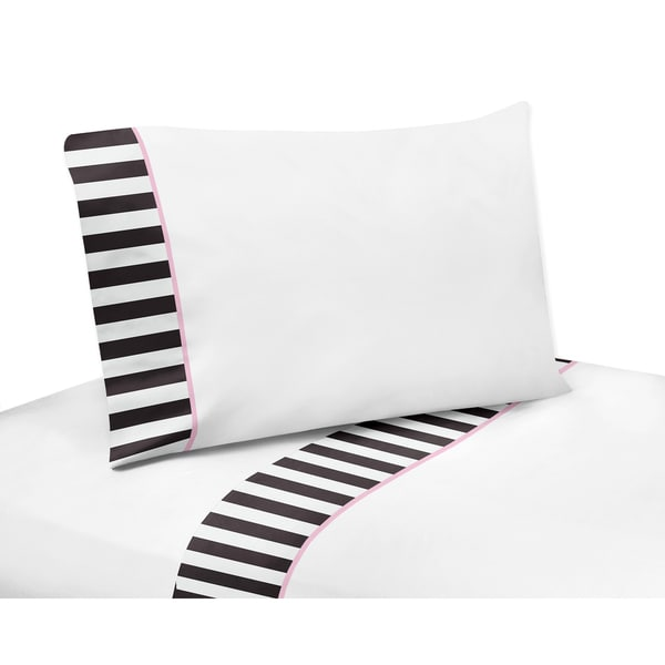 Sweet Jojo Designs Paris Collection 4-piece Sheet Set