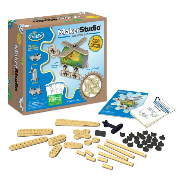 Think Fun 01703 Maker Studio Propellers Set