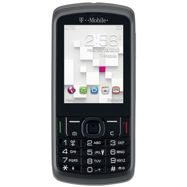 Alcatel 875 T-Mobile Phone - Black