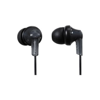 Panasonic ErgoFit Black In-ear Earbud Headphones