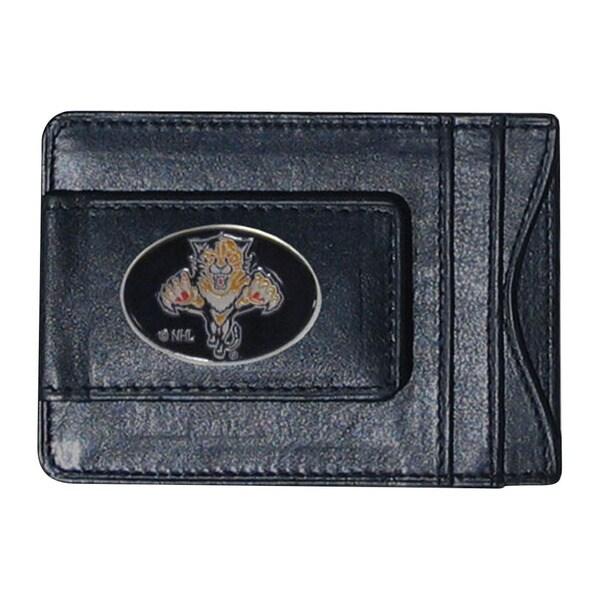 Florida Panthers Black Leather Wallet 21037208