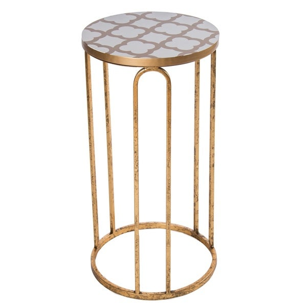 Lucinda Metal Side Table